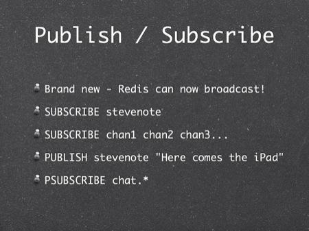 Redis tutorial, April 2010 - by Simon Willison
