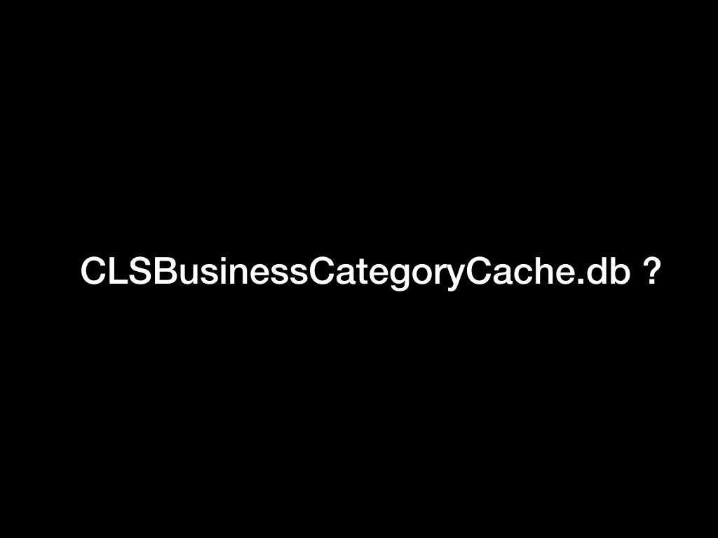 CLSBusinessCategoryCache.sqlite?